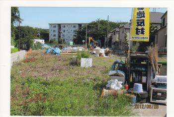 K墓地計画跡地の一部で始まった工事.jpeg